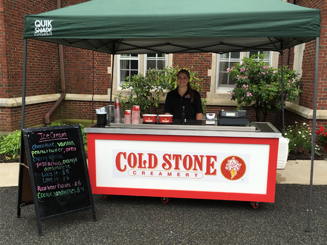 Cold Stone Creamery Ice Cream bar for your party